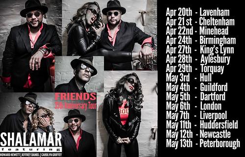 Shalamar - Friends 35th Anniversary UK Tour  2018
