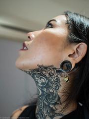 P3220016 (Cardinal Guzman) Tags: 2018 bangkok thailand mars thailandtattooexpo tattooconvention tattooedgirls inkedgirls girlswithink tattooed tattoos throattattoo throat
