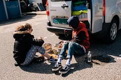 Preparing Food (Poul_Werner) Tags: danmark danskefujientusiaster denmark klitmøller nationalparkthy otherpeople photowalk thisted northdenmarkregion dk