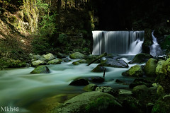 The fountain (paul.porral) Tags: waterfall wasserfall cascade flickr nature water longexposure poselongue green ngc waterscape