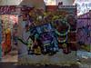 The Housing Crisis (Steve Taylor (Photography)) Tags: house garfield yikes dtr ymca cat art cartoon graffiti mural streetart tag colourful fun eerie weird newzealand nz southisland canterbury christchurch city spectrum