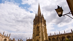 Dreaming Spires (pp agrippa) Tags: england oxfordshire oxford saintmarythevirgin church spire tower dlux3 leica