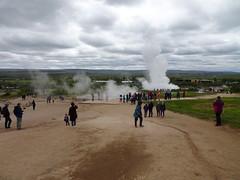 geysir_2_066 (OurTravelPics.com) Tags: geysir miaomiao max geothermal area with blesi fata geysers erupting strokkur geyser
