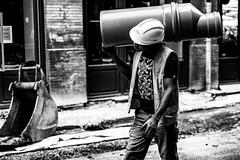 . (Stéphane Dégremont) Tags: streetphotography blackandwhiteonly noiretblanc toulouse blackandwhite stéphanedégremont light street