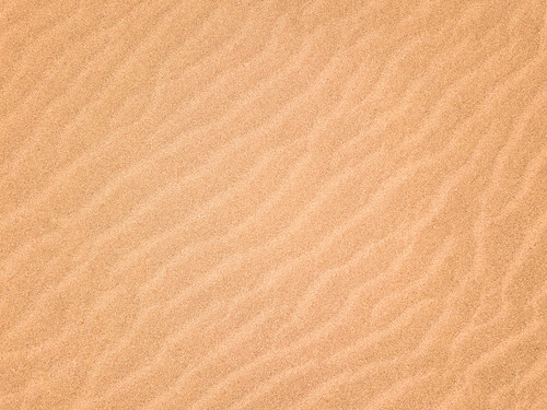 Bird eye view of sand waves