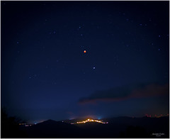 eclissi (Cufari Photo) Tags: luna rossa eclissi moon lights red eclipse luci ombra lanscape night