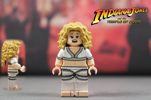 Custom Lego Indiana Jones Temple Of Doom Willie Scott A