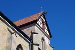 St. Marien, Königsberg in Bayern (palladio1580) Tags: bayern franken unterfranken landkreishasfurt königsberg kirche stadtkirche gotik fachwerk