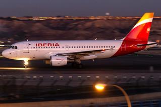 EC-JDL Iberia A319 Madrid Barajas
