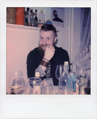 New Year III (Magnus Bergström) Tags: polaroid polaroid680slr polaroidoriginals polaroidslr680 instant film instantfilm karlstad sweden sverige värmland wermland color portrait party matpen00