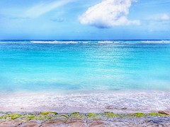 Good vibes happen on the tides. #good  #nature  #happen  #beach  #waves  #beachlife  #vibe  #tide (ibagpack1488) Tags: waves tide happen vibe nature beach good beachlife