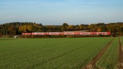 Muessen RE 4334 120 (Wolfgang Schrade) Tags: re regionalexpress db dbregio br120 br1202 kbs100 müssen zug eisenbahn