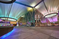 _DSC1583 (Hong Yu Wang) Tags: taiwan a73 1224g 大東文化藝術中心 kaohsiung night architecture 天花板 建築