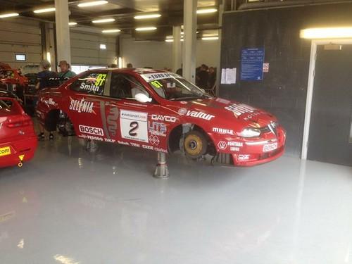 Silverstone Classic Alfas
