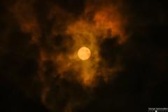 the sun through the clouds and smoke from devastated fires in Athens... (George Spanoudakiss) Tags: fujifilm fuji fujixt2 fujix fujilove fujixseries fujixpassion fujiholic fujicamera fujiphotos fujimadness fujinon fujilover xt2 athens greece sun sky scenery clouds cloudy orange