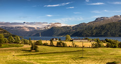 Countryside @ Norway 2018 (zilverbat.) Tags: noorwegen cinematic outdoor image zilverbat bild nature norwegian visit norwic norge mountains tripadvisor travel landscape tour map wallpaper world water sky clouds green nordic nordland fjords fjord scandinavië