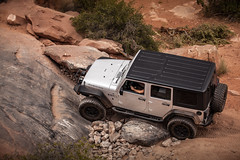 (Fire_For_Effect) Tags: moab utah ut united states usa 4x4 4wd awd toyota fj cruiser fjsummit jeep wrangler unlimited rubicon 12 2018 gemini bridges gold bar rim trail canyon slick rock red rocks waterfall photography