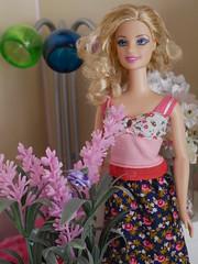 floral barbie hippie one (modcasey) Tags: barbie hippie dolls for photo challenge divas theme