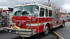 OFA Engine 3 (Central Ohio Emergency Response) Tags: ohio fire academy training state marshal office engine pumper quint ladder truck eone