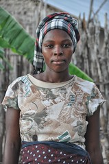 Young Mozambican woman.
