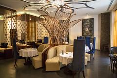 Southern Sun Abu Dhabi Hotel - Abu Dhabi (HarveyDxb) Tags: hotel southern sun abu dhabi luxury uae design decoration restaurant table abstract gold colorful