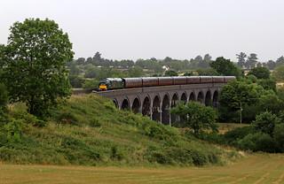 D6948 crossing Stanway viaduct