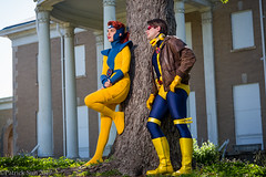 SP_61155 (Patcave) Tags: xmen jeangrey jean grey scottsummers scott summers phoenix cyclops comic book comicbook movie tv superheroes superhero superheroine 2017 atlanta georgia cosplay shoot model cosplayers costume costumers sigma 85mm f14 canon 5d3 1740mm f4 lens