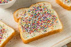 Homemade Australian Fairy Bread (brent.hofacker) Tags: anzac anzacday australia australiaday australian background birthday blue bread bright butter buttered cake candy celebrate celebration child colorful decoration dessert event fairy fairybread festive food holiday lunch party partyfood plate red setting snack sprinkles sugar sweet table traditional treat white