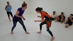 Beginning of the fight (BLLLCCC) Tags: women female referee adulto adult barefoot foot descalça mat tatame gym martialarts fight lutas esporte sports bjj jiujitsu nogi technique feminino