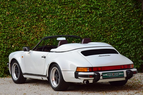 Just arrived : a beautiful and desirable Porsche 911 Speedster WTL