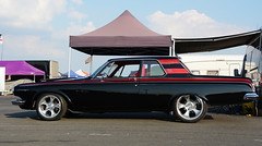 Dodge_1731 (Fast an' Bulbous) Tags: classic car dragster oldtimer vehicle automobile outdoor nikon santapod dragstalgie hotrod motorsport