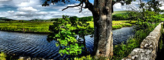River Ure (tina negus) Tags: hawes river ure panorama wensleydale yorkshire dales