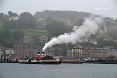 (Zak355) Tags: pswaverley paddlesteamer steaming steam smoke rothesay isleofbute bute scotland scottish ship boat vessel shipping riverclyde waverly
