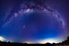 GlassHouse Mountains Milky Way Pano (myshutterworld) Tags: star trail scp nightscape astrophotography queensland australia milky way galaxy magellanic clouds glasshouse mountains lookout panorama tibrogargan wild horse mountain beerburrum tunbubudla twins