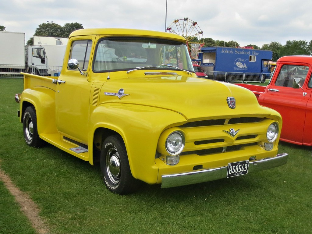The Worlds Most Recently Posted Photos Of 1950s And F100 Flickr Ford 244 2nd Gen Pick Up Truck 1956 Robertknight16