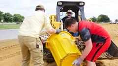 Debris Removal (Maryland DNR) Tags: secretary markbelton debris cleanup sandypoint statepark staff volunteers equipment