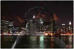 City double exposure (psychosteve-2) Tags: double exposure photoshop smoking