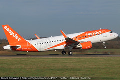 G-EZOL | Airbus A320-214 | easyJet (james.ronayne) Tags: gezol airbus a320214 easyjet luton ltn eggw canon 80d 100400mm raw aeroplane airplane plane jet aviation aircraft jetliner airliner flight flying