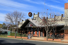 Oaklands Hotel (Jungle Jack Movements (ferroequinologist)) Tags: oaklands milthorpe street nsw new south wales alcohol ale alehouse amber bar barman bartender beer brew brewery drink draught froth lager saloon hotel tavern inn public publican local drinkers stout lounge watering hole pub tab house australia order cold coldie customer thirsty cheers keg drinker serve liquor whiskey scotch bourbon rum spirits light heavy pint schooner middy 7 pot shout mates counter meals victoria melbourne bitter carlton xxxx emu west end