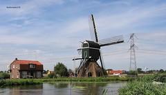 Oukoper Molen (Nieuwer Ter Aa) (bcbvisser13) Tags: molen mill moinhos mühle oukopermolen wipmolen nieuwewetering angstel nieuwerteraa rivier river stichtsevecht provutrecht nederland holland eu