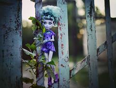 (GothGeekBasterd) Tags: twyla boogeyman doll ivy monsterhigh mattel coffin bean freak du chic circus leaf walk outdoors outside