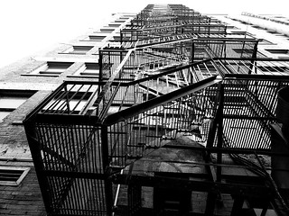 Downtown Montreal Fire Escape