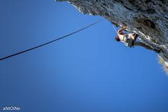 Grimpouille ('aNtOiNe') Tags: antoine antoinepillaud nikon escalade climbing petzl cirquedeladou brive varape rope corde roche rock minéral