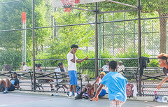 1358_0272FL (davidben33) Tags: brooklyn ny crown height summer 2018 park sport basketball people children 718 plaj joi trees bushes sporting field