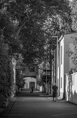 Huvilakuja (Markus Heinonen Photography) Tags: huvilakuja ullanlinna ulrikasborg helsinki stadi helsingfors kuja alley gränd streetphotography bw black white mustavalkoinen suomi finland europe architecture