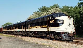 I got to run the OCS train from Mohawk to Binghamton!!!