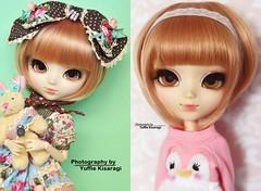 2008 vs 2018: Bubbles (·Yuffie Kisaragi·) Tags: doll pullip alice du jardin bubbles obitsu rewigged rechipped