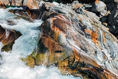 Valle Verzasca (Guy Goetzinger) Tags: lavertezzo ticino goetzinger nikon d850 2018 tessin river water orange fresh wild mountain color verzasca switzerland
