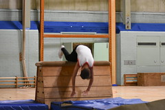 DSC_6017 (Amateur 'tog from Exeter) Tags: royalmarinescommando marinecadets rmvcc vcc ctcrm rm ctc lympstone military physdisplay babybootneck gym vaulting frontflip backflip kids children child pti pe exmouth exeter