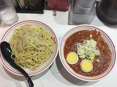 Tsuke karafuto at Mouko tanmen Nakamoto, kichijoji (nakashi) Tags: ramen tsukemen spicy nakamoto kichijoji tokyo japan